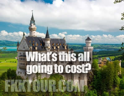 What's it going to cost me to attend a tour?
