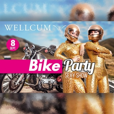Wellcum bike party