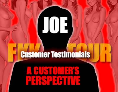 """Read a """"Customer's Perspective"""" by Joe and Testimonials from our actual guests"""