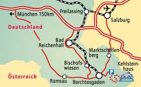 map to eagles nest kehlsteinhaus